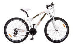 White bike Royalty Free Stock Photography
