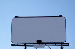 white billboardu zdjęcie stock