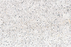 White and black. Terrazzo texture Royalty Free Stock Photos