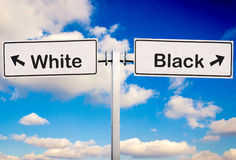 White or black Stock Photo