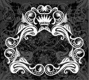 White & black border pattern Royalty Free Stock Photography