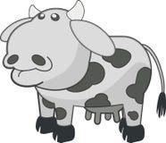 White, Black, Cartoon, Cattle Like Mammal Royalty Free Stock Photos