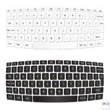 White and Black computer keyboards. Vector illustration Royalty Free Stock Photos