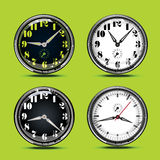 White and black dial watch Royalty Free Stock Photo