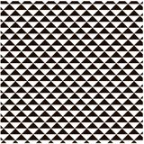 White and black geometric trigonal seamless background design element Royalty Free Stock Image
