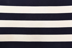 White and black striped fabric texture Royalty Free Stock Image