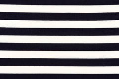 White and black striped fabric texture Royalty Free Stock Images