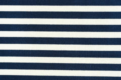 White and black striped fabric texture Royalty Free Stock Photo