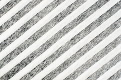 White and black striped jersey textile Royalty Free Stock Image