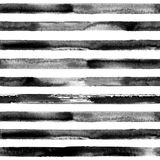 White and black striped seamless pattern stock illustration