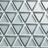 White And Black Triangles Structure Background Stock Photography