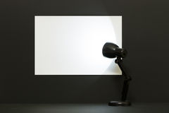 White blank backdrop Royalty Free Stock Images