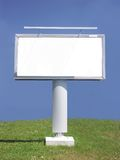 White blank billboard Stock Photos