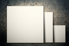 White blank board Stock Photography