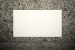 White blank board Stock Images