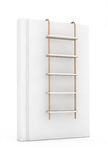 White Blank Book with Rope Ladder Stock Photos