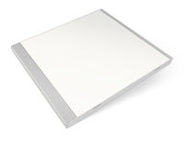 White blank cd case Royalty Free Stock Photos