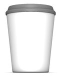 White blank cup  Royalty Free Stock Photo