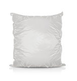 White Blank Foil Food Bag Stock Photos