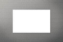 White blank name card. Or business card Stock Photography