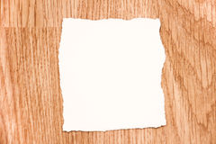 White blank note paper Stock Photography