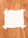 White blank note paper Stock Photos