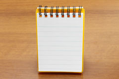 White blank notebook Royalty Free Stock Photos