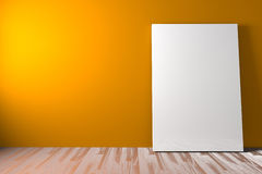 White blank poster Royalty Free Stock Photo