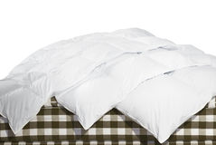 White blankets royalty free stock images