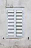 White blinded window Stock Photography