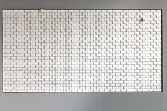 White block wall Royalty Free Stock Photos