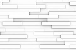 White blocks abstract. Abstract clean modern white blocks with shadows Stock Photography