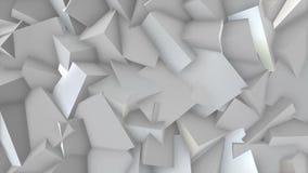 White blocks. stock footage