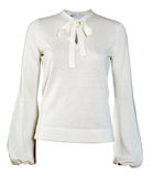 White blouse Royalty Free Stock Images