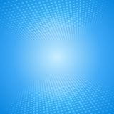 White and blue abstract background with squares Stock Images