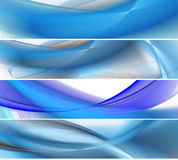 White and blue abstract business background Royalty Free Stock Image