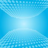 White and blue abstract perspective background Royalty Free Stock Image
