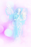 A white and blue angel background. A white and blue angel pink background Royalty Free Stock Photo