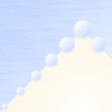White-blue background Royalty Free Stock Photography