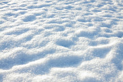 White blue background from snow shiny in sun Stock Photography