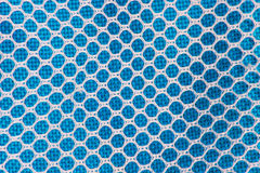 White and blue checkered abstract background. And texture Royalty Free Stock Image