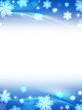 White blue christmas background Stock Photo