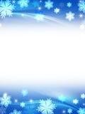 White blue christmas background Stock Photo