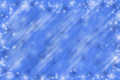 White and blue Christmas background copy space Royalty Free Stock Image