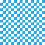 White and blue color in checker or wicker pattern Stock Photography