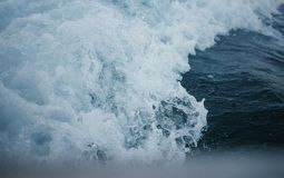 White and Blue Crashing Waves at Daytime Stock Photos