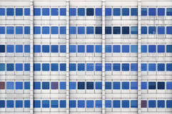 White and Blue High Rise Building Royalty Free Stock Photography