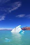The white-blue icebergs Royalty Free Stock Photo