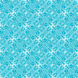 White and blue pattern Stock Images