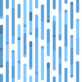 White and blue pattern. Vector seamless festive pattern with irregular lines and rounded corners. Stock Image